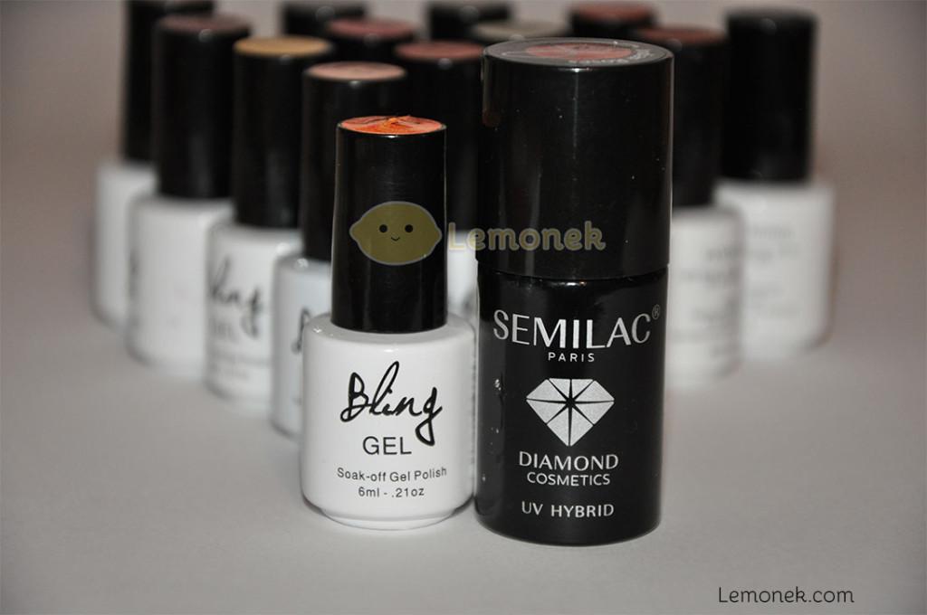 buteleczki bling a semilac