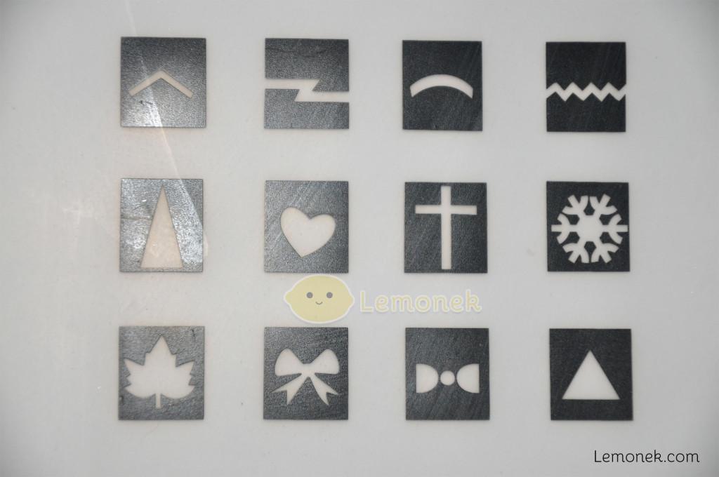kwadraciki z kształtami tak małymi, że aż dla dzieci xD