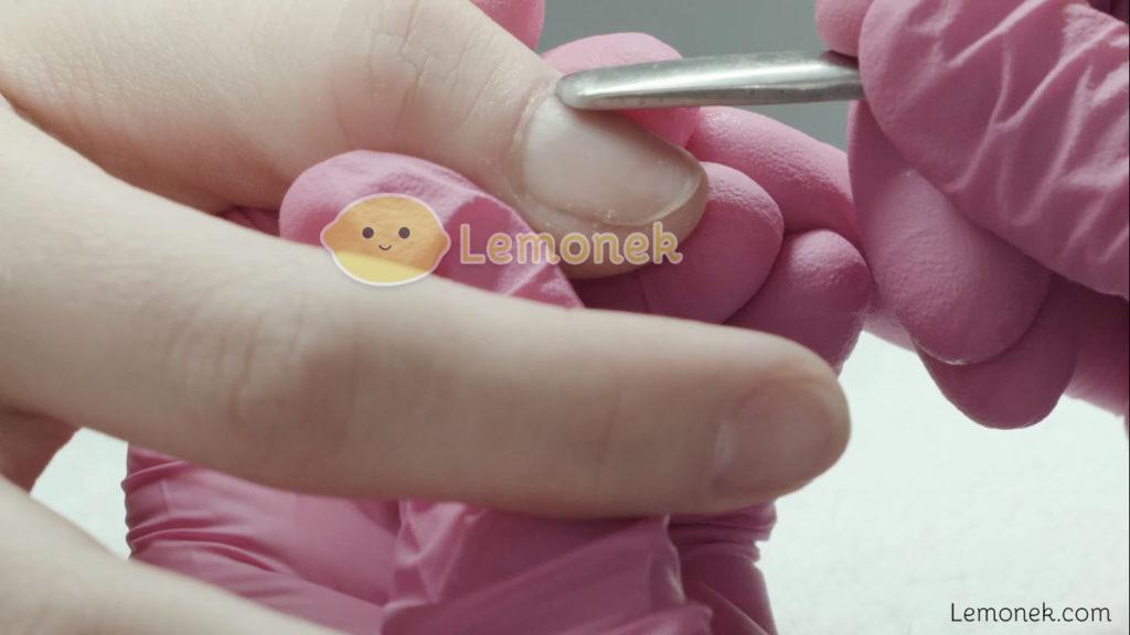 przygotowanie płytki paznokcia miracle nails odsuwanie skórek