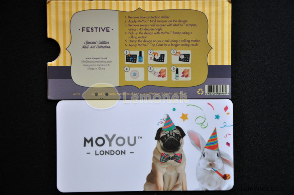 płytka moyou london blaszka matryca wzory stemplowanie nail art stamping wzory festive 2 okładka