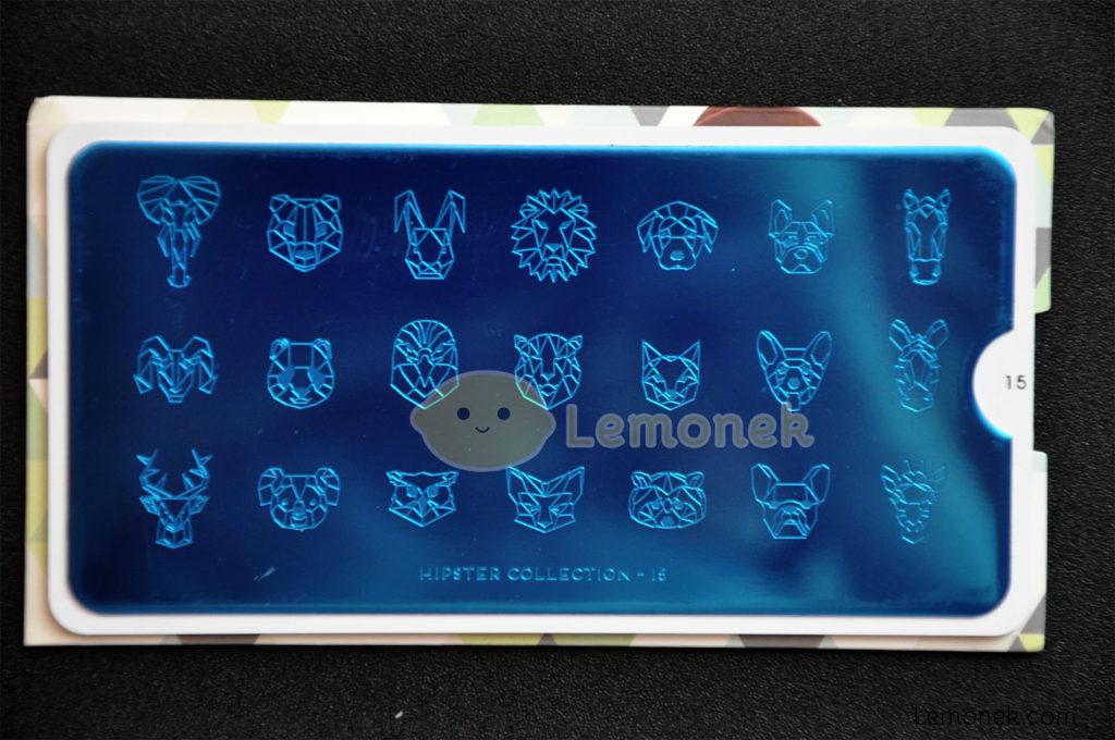 płytka moyou london blaszka matryca wzory stemplowanie nail art stamping wzory hipster