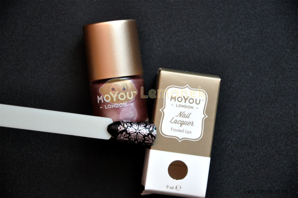 lakier do stempli moyou london frosted lips