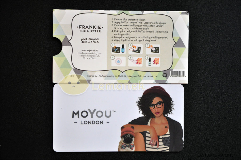 płytka moyou london blaszka matryca wzory stemplowanie nail art stamping wzory hipster okładka