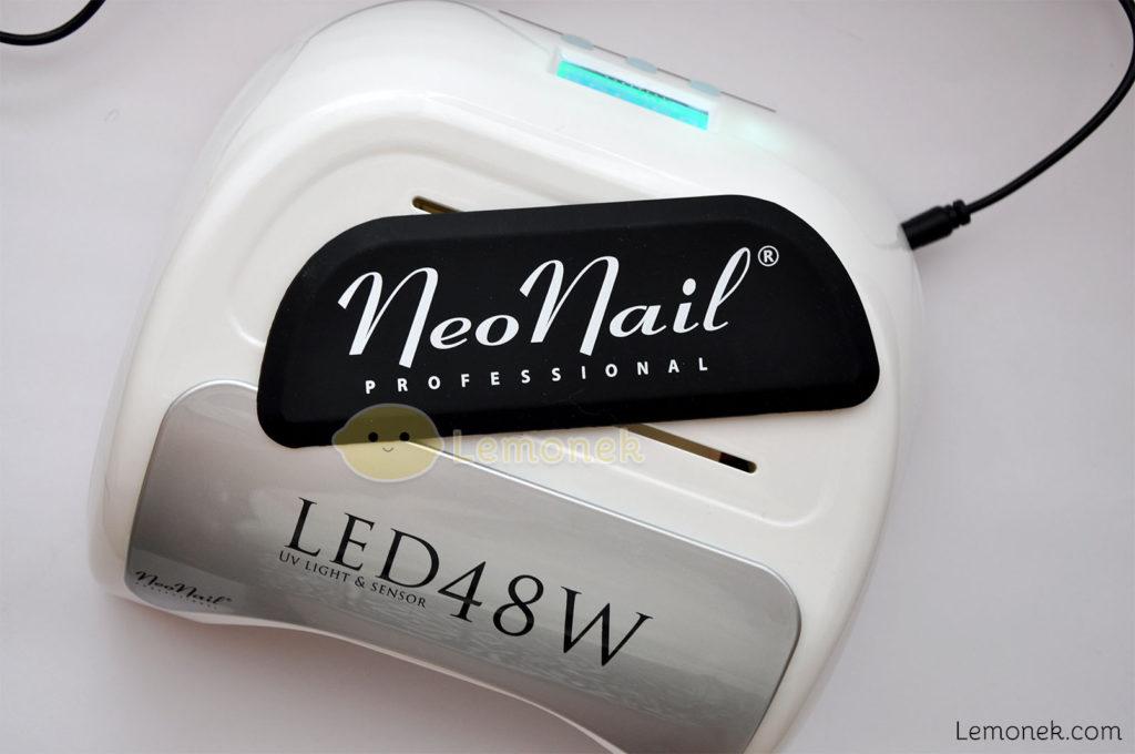 nakładka lampa led neonail 48W recenzja lemonek blog