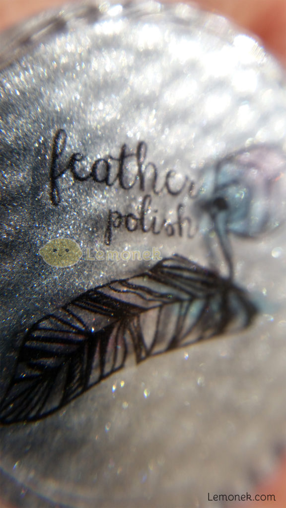chrom feather polish efekt chromu srebrne paznokcie recenzja lemonek blog