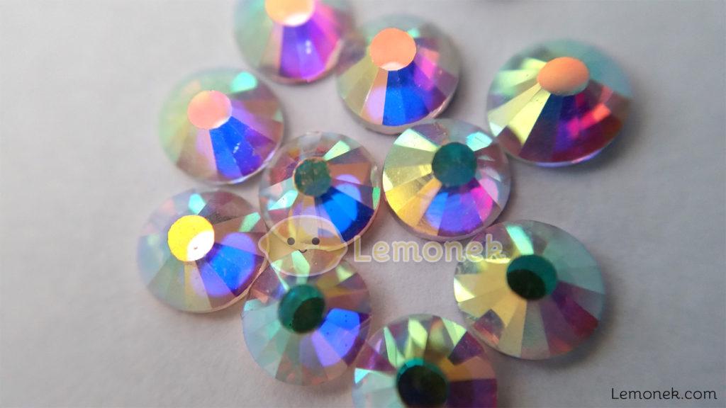 cyrkonie zirconia aliexpress opalizujące srebrne