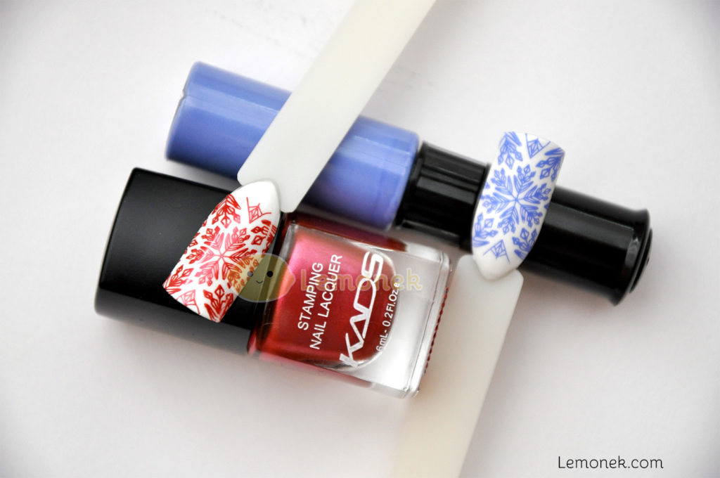 lakiery do stempli kads lakier stemplowanie nail art