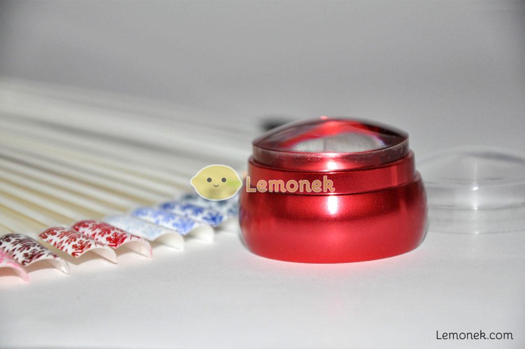 clear jelly stamper duży 4cm aliexpress osłona nakładka guma czerwony
