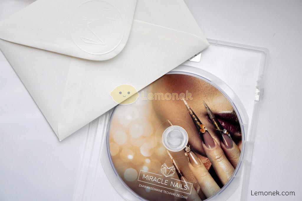 płyta miracle nails kurs zaawansowane techniki żelowe