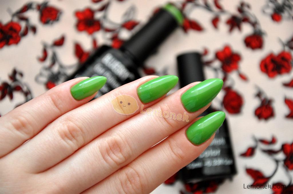 greenery zielone paznokcie nails bluesky dc109