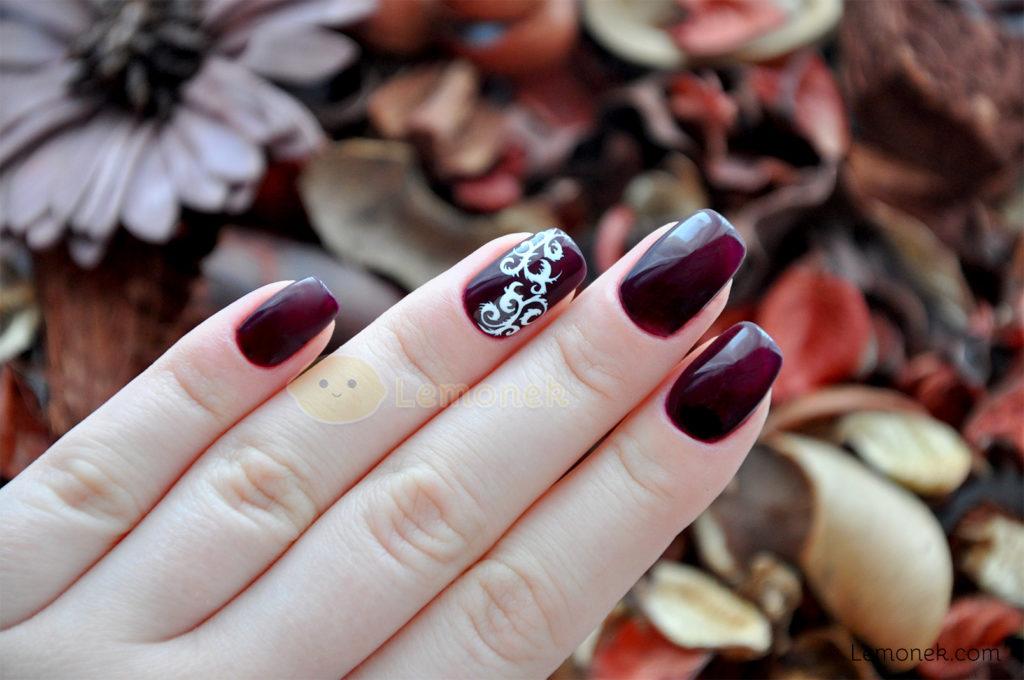 revolution divinity osi ugonoh nails commpany paznokcie stylizacja sugar paint gel indigo pędzelek aliexpress